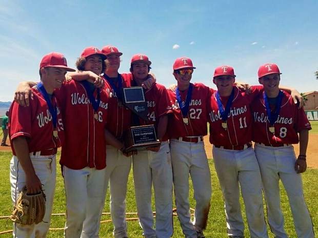 The Truckee baseball team repeated as Class 3A state champions, taking first place at the state tournament in Mesquite, Nevada.