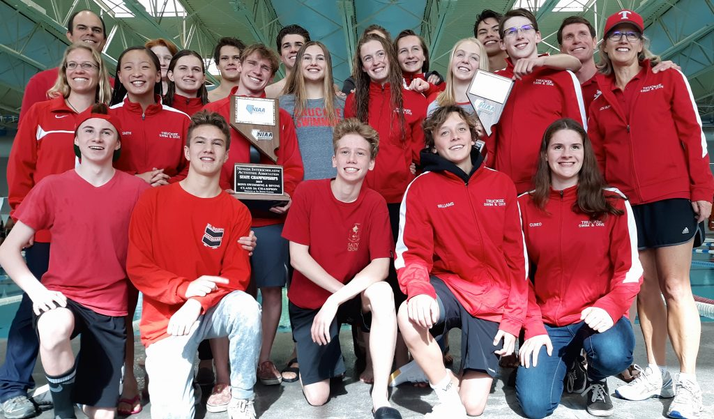 Truckee boys swim to state title, girls claim second