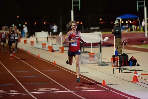 Truckee junior Montana Montgomery claimed second-place finishes in the 1,600 meters and 3,200 meters.