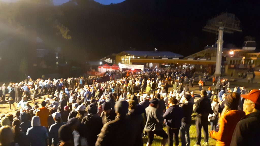 Western States gets underway from Squaw Valley
