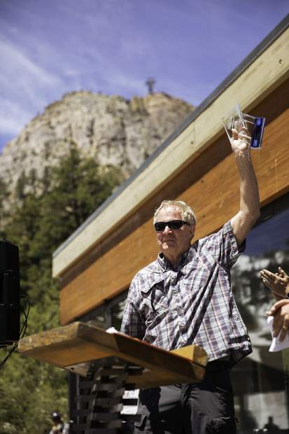 Squaw Valley Alpine Meadows' Jimmy King was awarded the Dave McCoy Lifetime Award by the California Ski Industry Association at a ceremony earlier in the month.