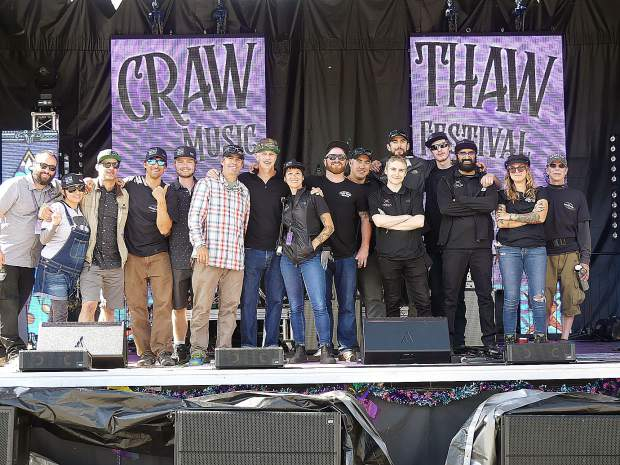 In the end, this looked like the responsible party (from the 2nd annual Craw Thaw in Truckee.)