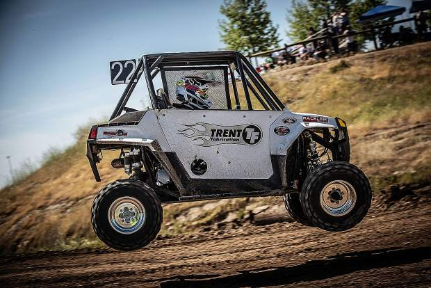 Truckee Elementary student and 10 year old race car driver, Dylan #trentytwo Trent, races locally in Prairie City and Sparks.