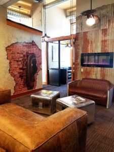 3-D mural by John Pugh adorns new co-working space in Truckee