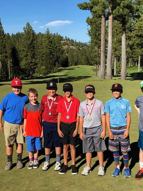 Sixty-two players showed up to compete at the Truckee Tahoe Junior Golf Tour's stop at Coyote Moon earlier in the month.
