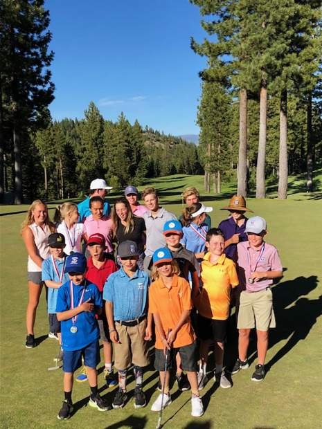 Truckee Tahoe Junior Golf Tour cup race heats up at Coyote Moon