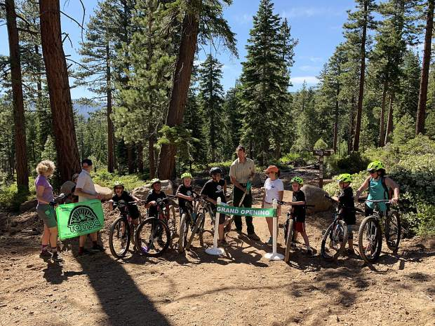 New Kings Beach trail unveiled: 'Beaver Tail Trail' chosen among 80 suggested names