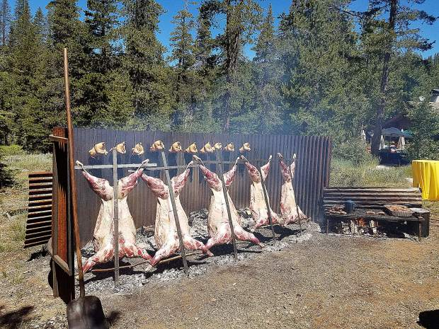 The Lake Tahoe Ski Club Foundation annual Asado.