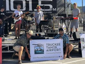 Sun Snapshots: 'Kai & the Monsters' performed on the main stage at Truckee Thursdays