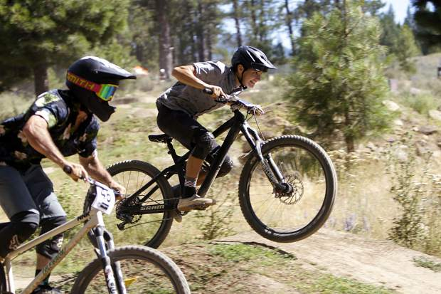 The season opener for competition at Truckee Bike Park was held on Saturday, July 27.