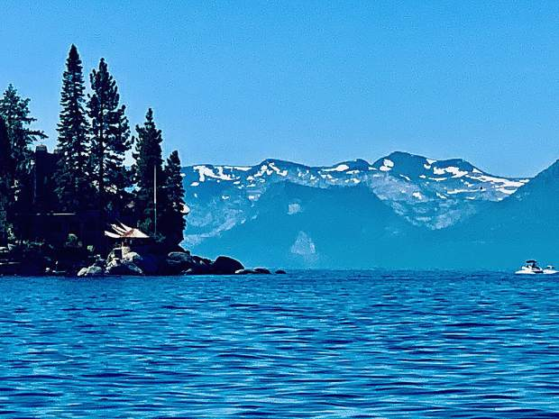 Tahoe East Shore and Mt. Tallac.