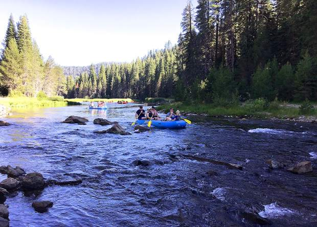 Tahoe City's two rafting outfits — Truckee River Rafting and Truckee River Raft Co. — received word on Thursday, July 25, from the Federal Water Master in Reno that flow rates would be increased, likely allowing for rafting to continue through Labor Day weekend.