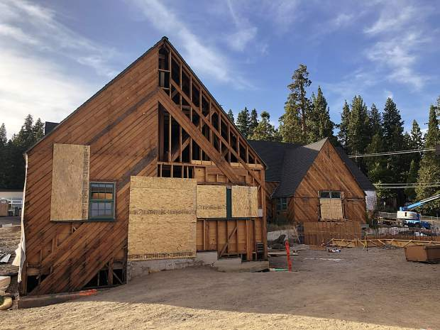 Tahoe Lake Elementary was originally built in 1934 and requires extensive work to maintain its historic core.
