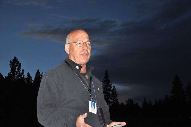 Tony Berenden says told Tahoe Magazine that stargazing