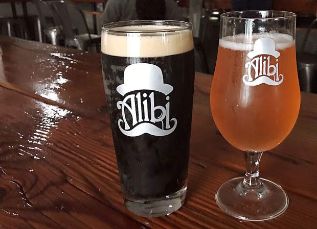 Grab a pint at Alibi Ale Works in Incline Village before hitting the road again.