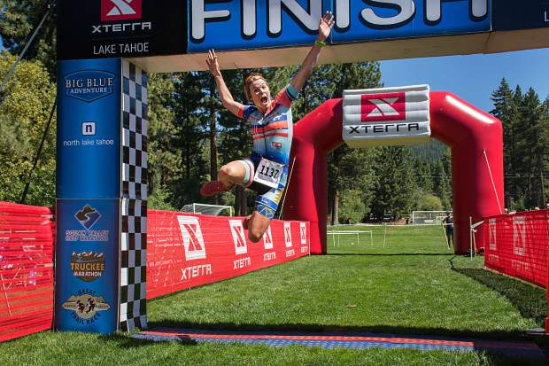 Truckee women sweep podium at XTERRA Lake Tahoe triathlon