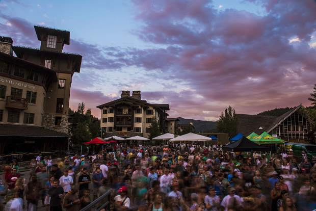"""The Brews, Jazz and Funk Fest is a fun summer festival that pairs fantastic brews and great musicians together for an afternoon in the sun, all while bringing in important funds for the Humane Society of Truckee-Tahoe,"" said Caroline Ross, executive director for the Squaw Village Neighborhood Company."