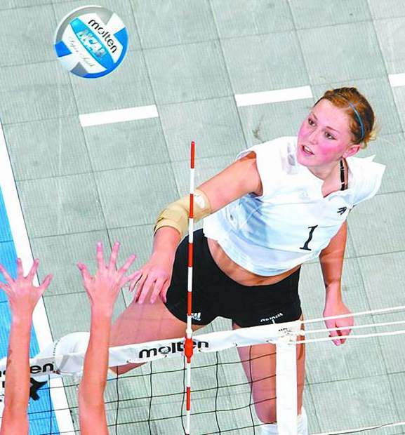 Teal Ericson was a 6-foot-1 outside hitter for the University of Nevada volleyball team.