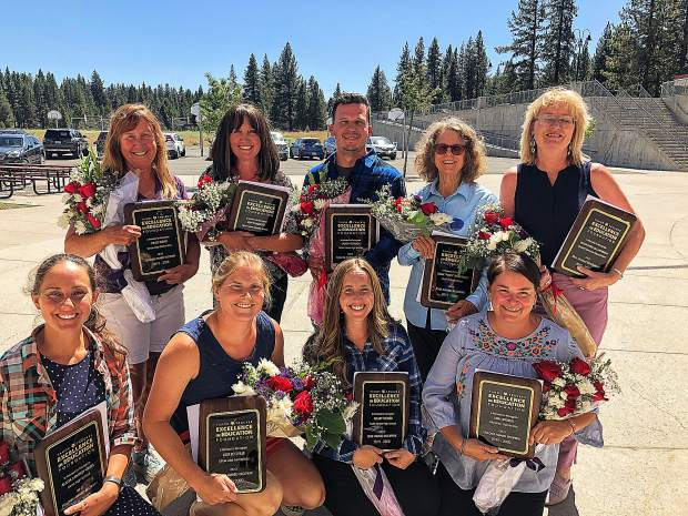 The 2019-2020 Award Recipients were honored by the Tahoe Truckee Excellence in Education Foundation.