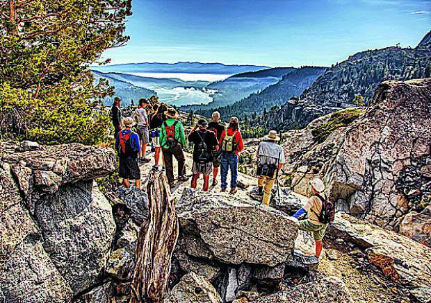 The Donner Party Hike is a weekend of fun interpretive hikes and talks (Sept. 14-15) that explores the rich history and spectacular scenery of Donner Summit and Donner Party camps.