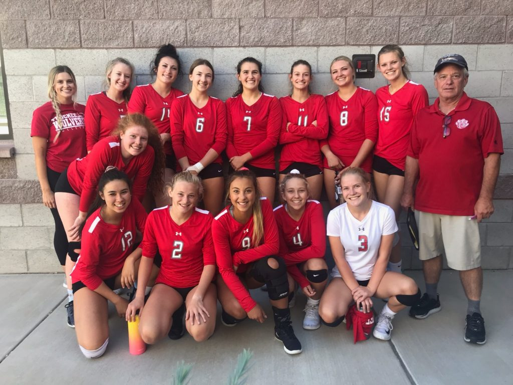 Lady Wolverines post best finish in program history at High Sierra volleyball tourney