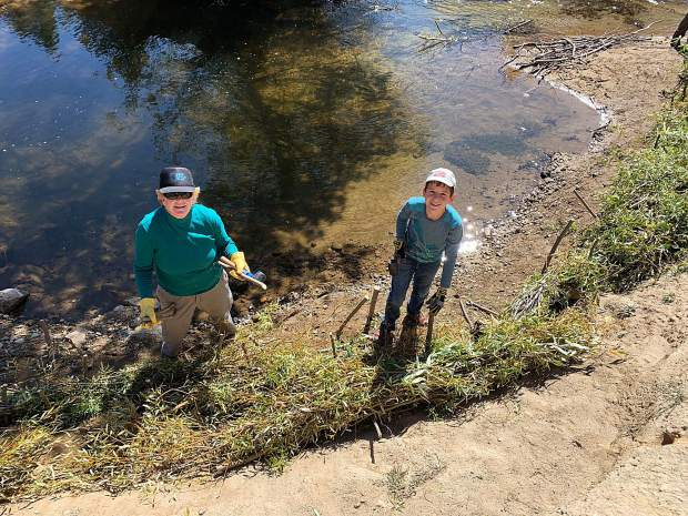 Work is done to restore sensitive habitat along the Upper Truckee River.