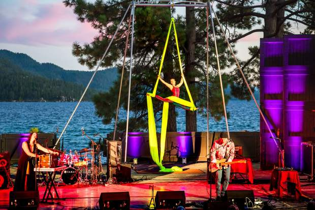 The sixth annual Trails & Vistas World Concert will be held Saturday evening at Sand Harbor.