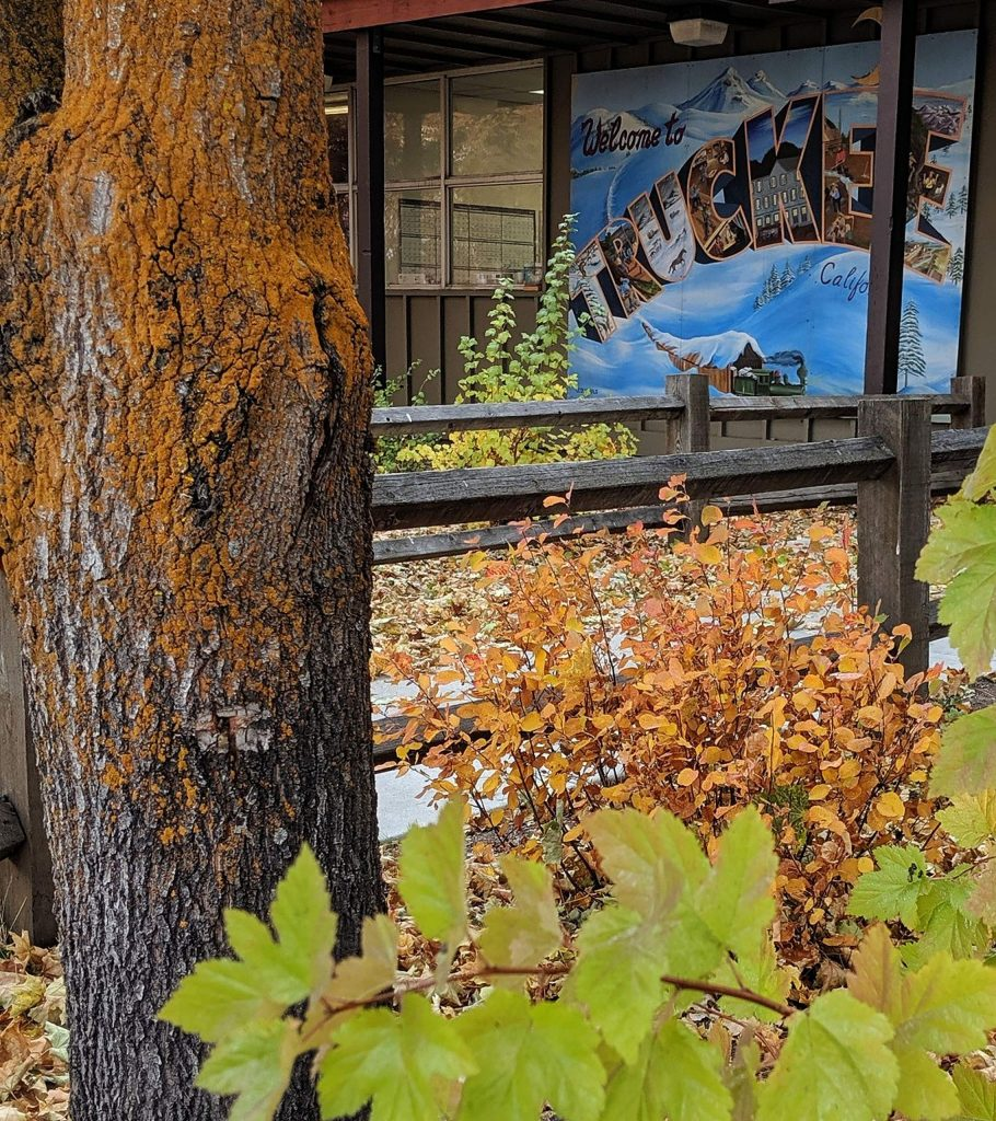 Truckee colors, historic downtown Truckee.