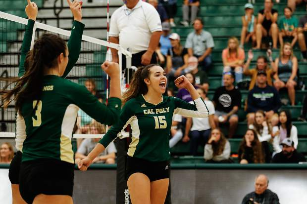 Former Truckee volleyball player named Big West Player of the Week for third time