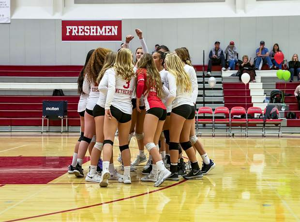 The Truckee volleyball team is a win away from going undefeated in Northern League play. The Wolverines close out the season tomorrow at Dayton.