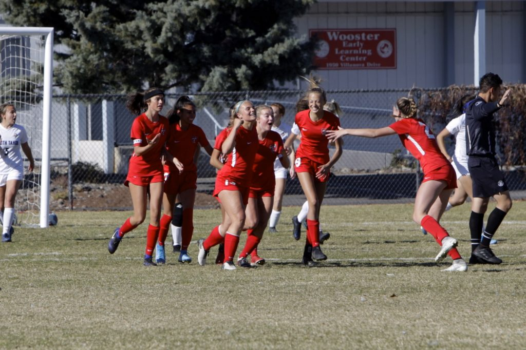 The Truckee girls' soccer team captured a fourth straight state championship on Saturday at Wooster High School in Reno.