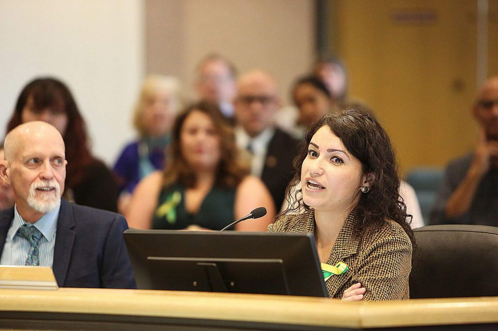 Gold Country Services Executive Director Janeth Marroletti provided a presentation to the Nevada County Board of Supervisors Tuesday morning, highlighting the need for county support for senior services.