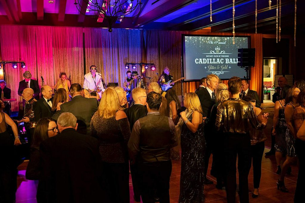 The Truckee Rotary Club's annual Cadillac Ball sold out as usual and provided a ton of fun. The Tahoe Community Theater did a 10-minute skit and the band Groove Foundry made sure everyone kept on their feet. The annual event has raised more than $1.5 million for community service organizations.
