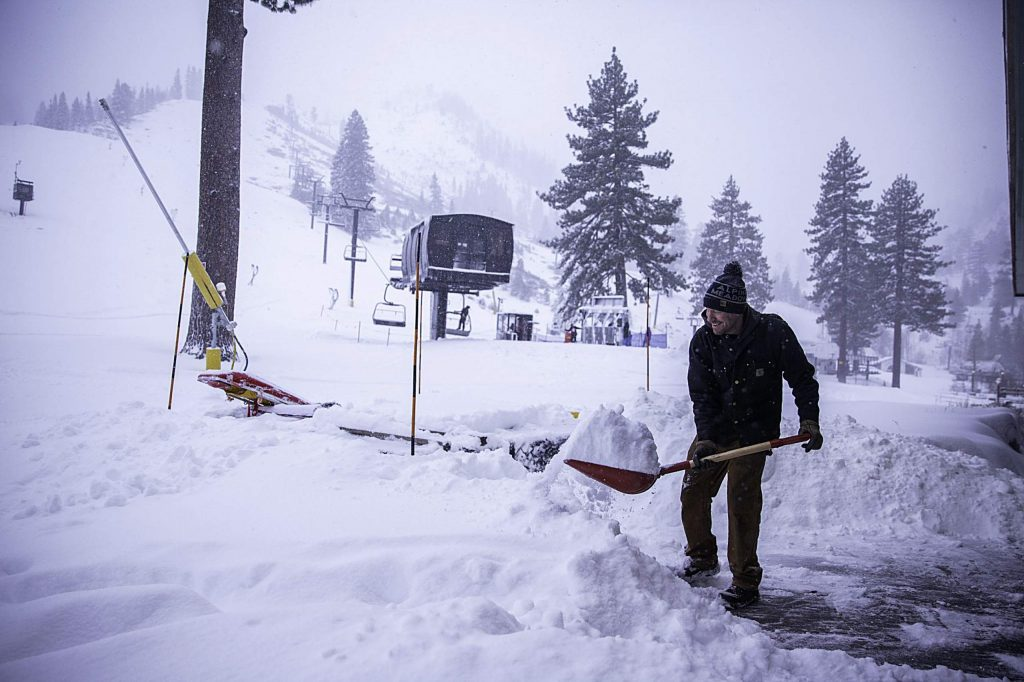 Squaw Valley Alpine Meadows had 18 inches of fresh snow fall at its two mountains.