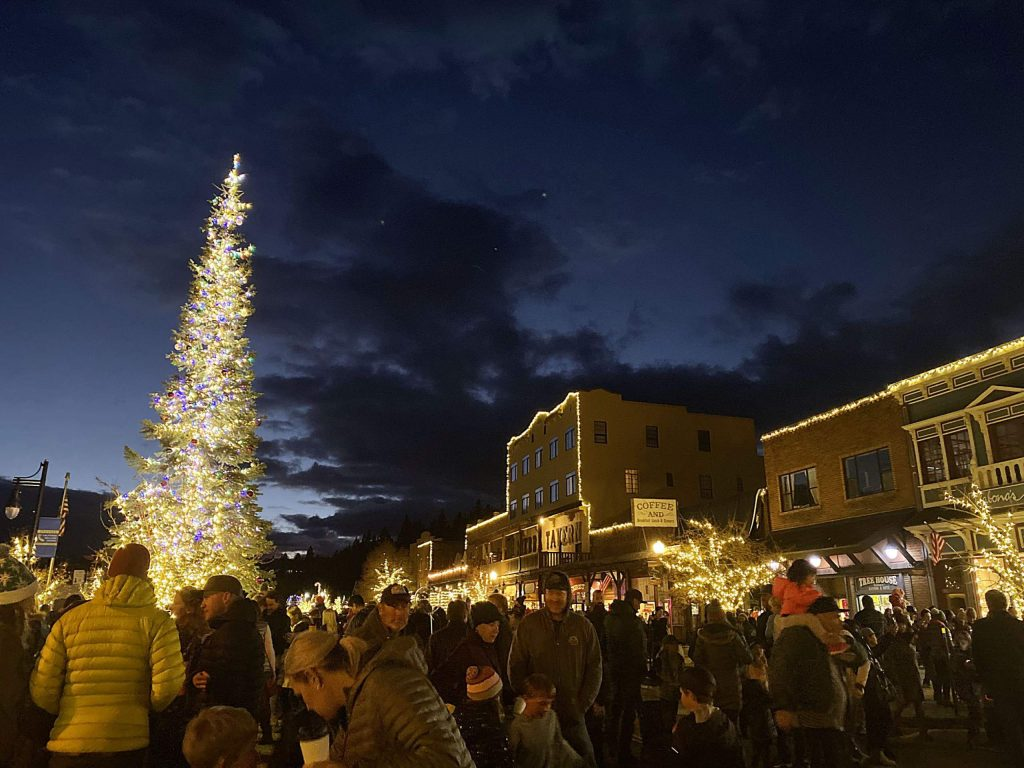 Truckee celebrated the start of the Holidays on Nov. 22 with the annual tree lighting ceremony.