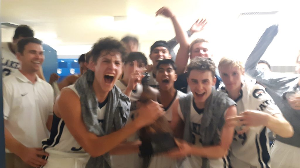 The North Tahoe boys captured the TNT Cup in the second annual rivalry game against Truckee.