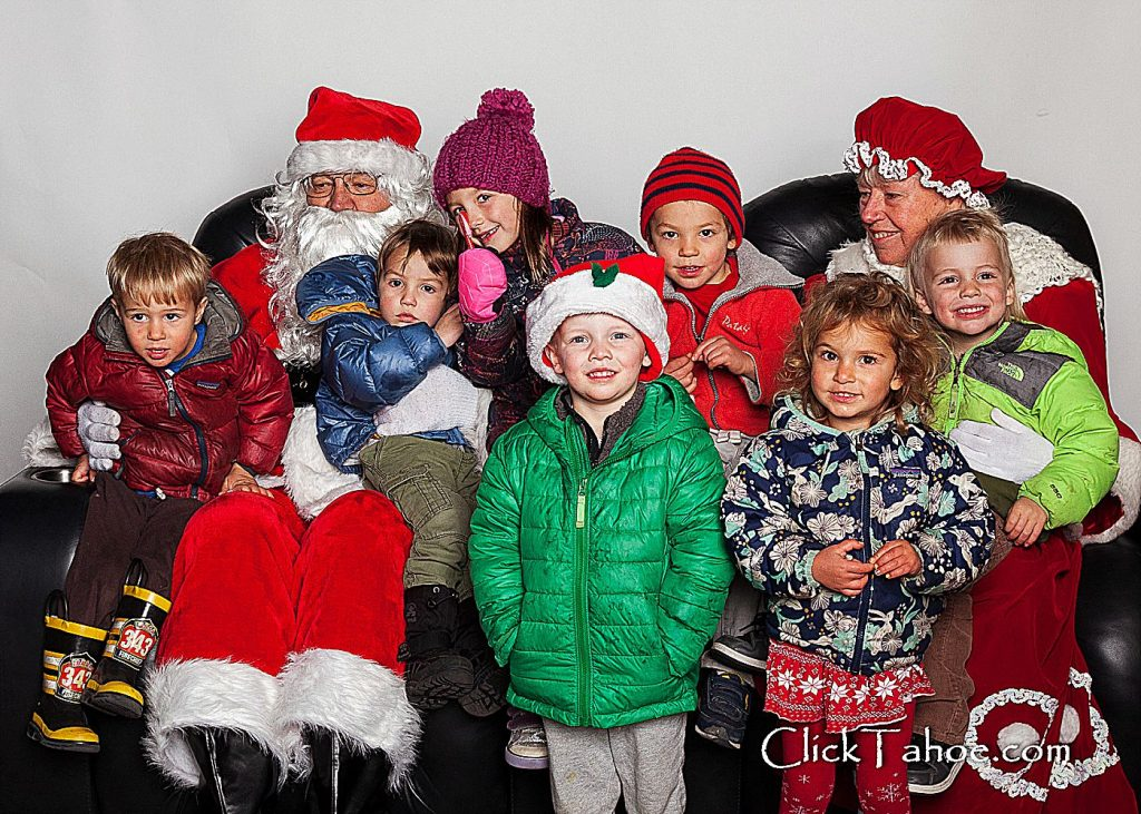 The Christmas season kicked off in Truckee with the annual holiday tree lighting event, complete with hot chocolate and visits with Santa, put on by the Truckee Downtown Merchants Association in partnership with Rotary club of Truckee and ClickTahoe.com.