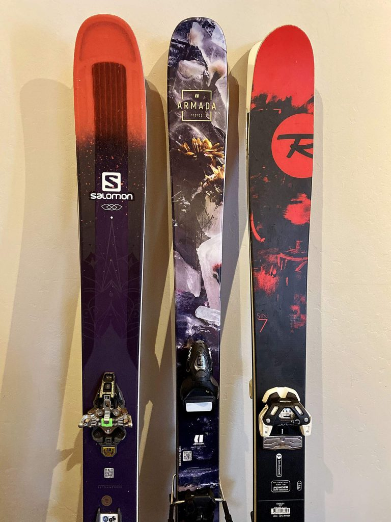 With advancing technolopgy skis can have various features that make them suitable for different terrain.