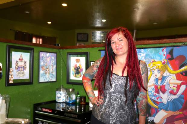Natisse Thomas says she's inked countless Tahoe-centric tattoos at Needle Peak Tattoo in South Lake Tahoe.