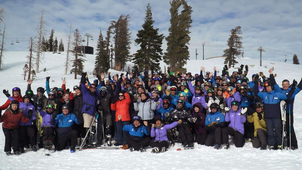 Achieve Tahoe provided adaptive ski and snowboard equipment, specialized lessons, meals, transportation and overnight accommodations to a group of veterans, on Jan. 22-25 during Anthem Winter Ski Fest, who were wounded during their service.