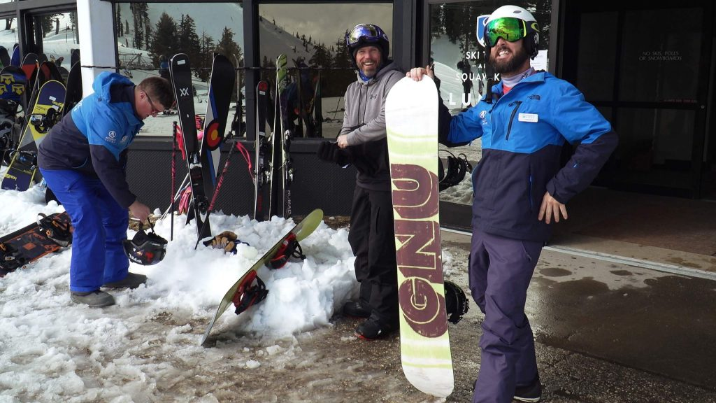 Veterans travel from all over the country to participate in private lessons for ski and snowboarding that are specifically designed to boost their emotional well-being, support their physical therapy, rekindle camaraderie and build their confidence.