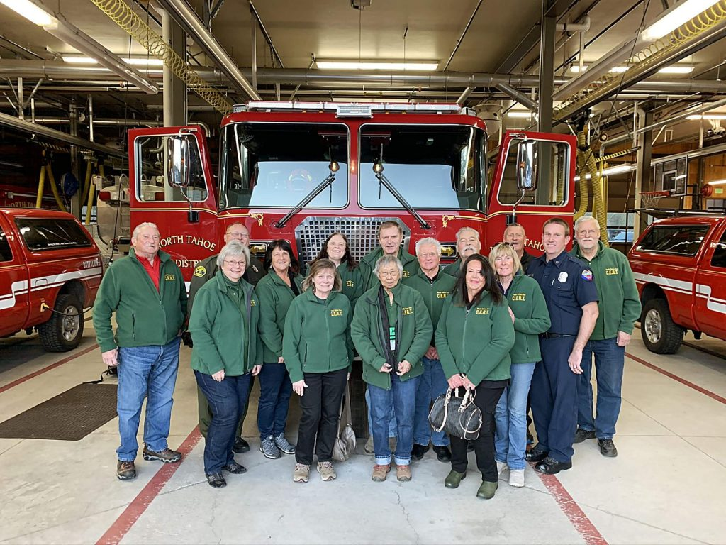 The North Tahoe Fire Protection District Board of Directors recognized the area's Community Emergency Response Team at its meeting on Tuesday.