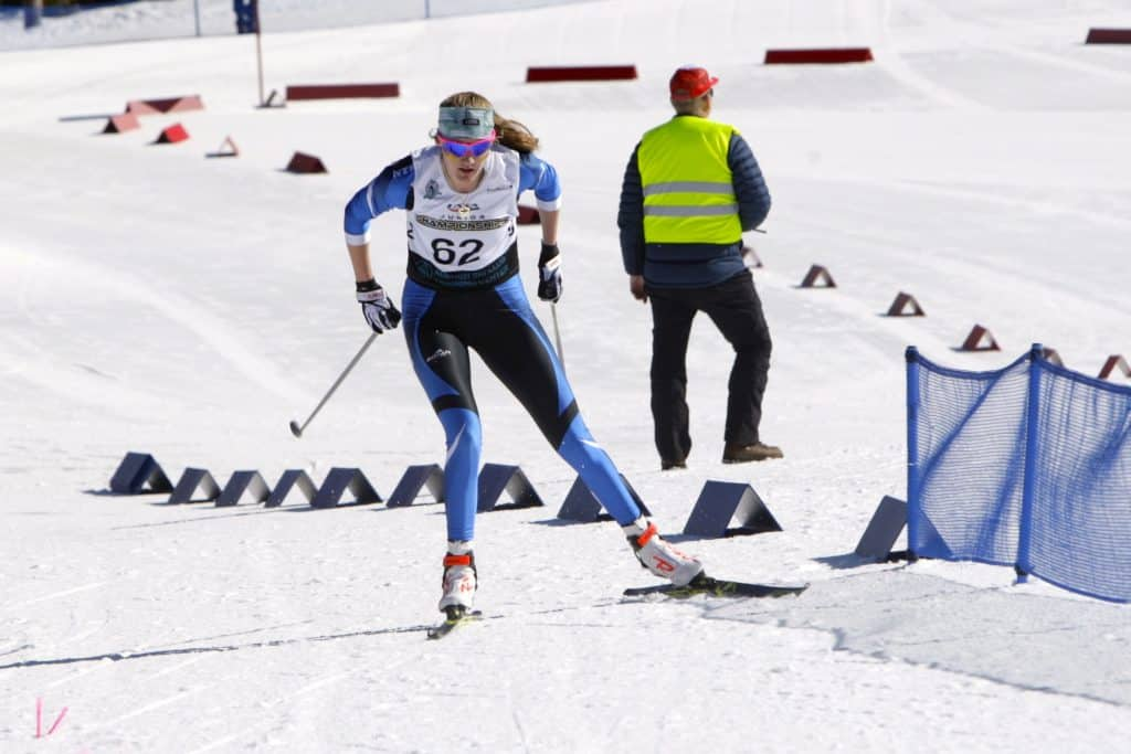North Tahoe's Alani Powell powers to a second-place finish at the state championships.