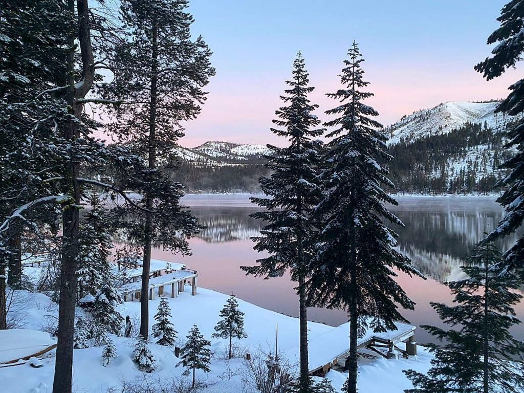 Donner Lake on Jan. 14, 2020.