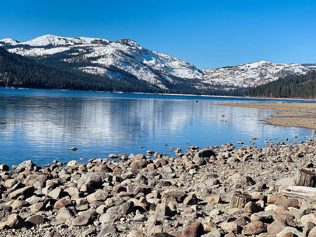 A perfect day at Donner Lake.