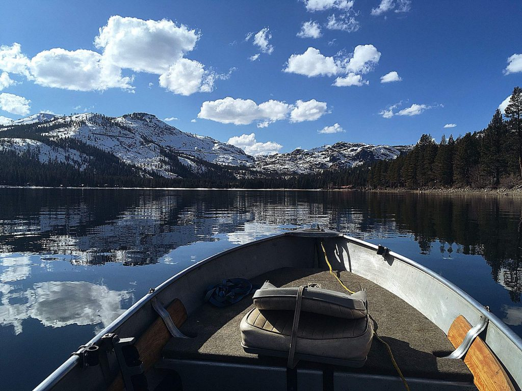 A beautiful winter day on Donner Lake.