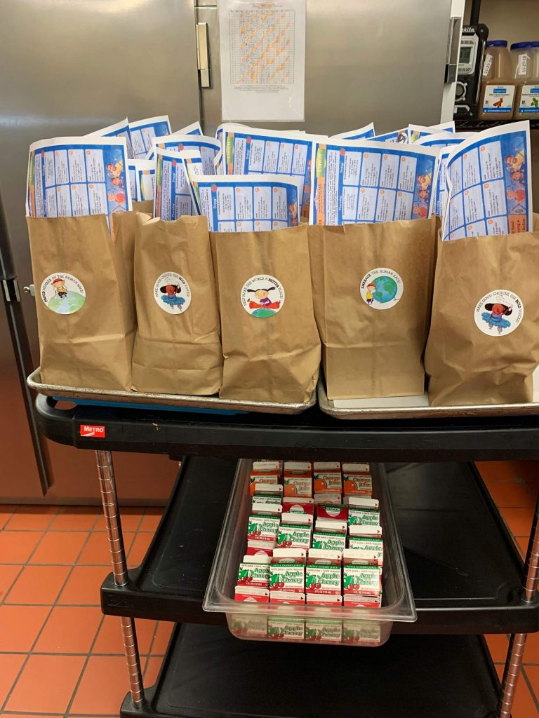 Lunches and breakfasts for the next day are available for pickup at several Tahoe Truckee Unified School District locations.