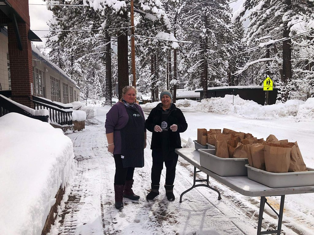 The Tahoe Truckee Unified School District is providing free meals to children age 18 and under. Meals can be picked up weekdays through April 3.