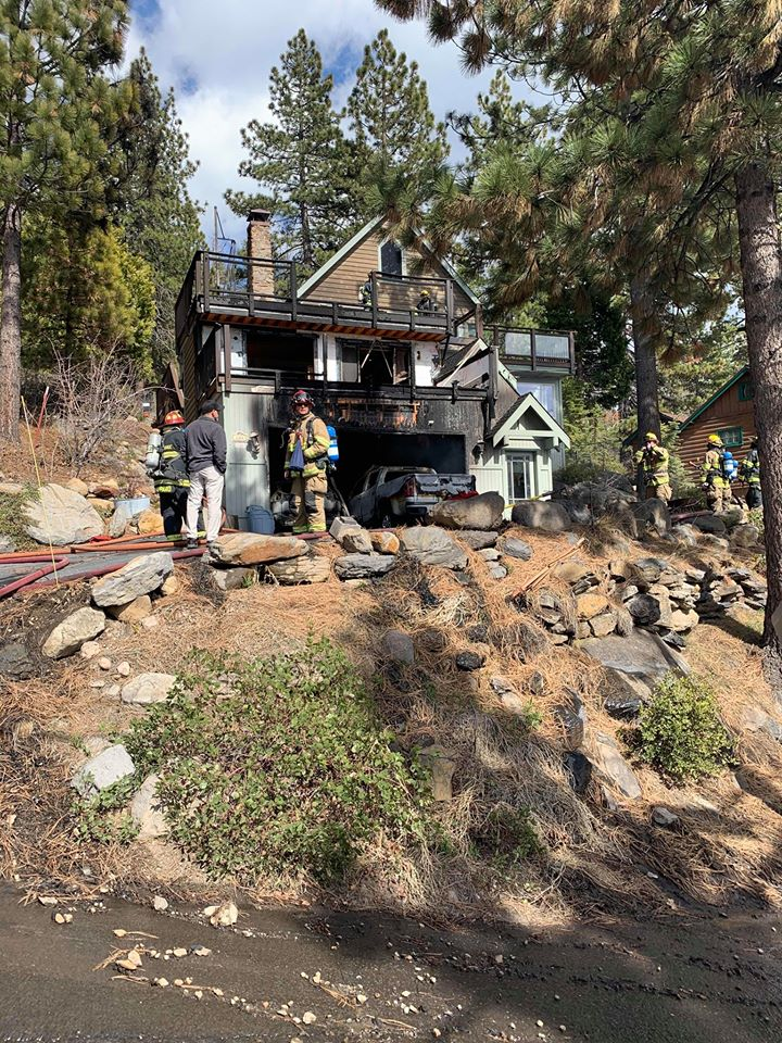 """This is a sad reminder to ensure you have working smoke alarms throughout your home, that you have practiced your home escape plan, and that you are maintaining defensible space around your home,"" said North Tahoe Fire Protection District in a social media post."