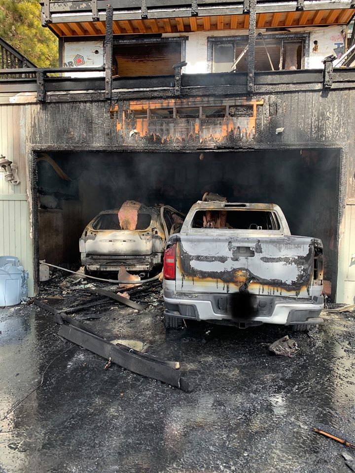 Units from North Tahoe Fire Protection District and Northstar Fire Department responded to a residential fire in Kings Beach on Wednesday.